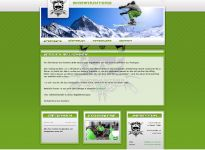 webdesign snowhunters homepage